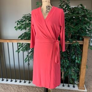 Ann Taylor Long Sleeve Wrap Dress Size 10 NWT